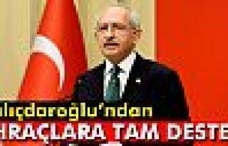 Kılıçdaroğlu, ihraçlara destek verdi