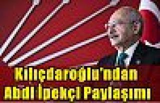 Kılıçdaroğlu'ndan Abdi İpekçi paylaşımı