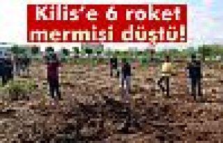 Kilis'e roketatar mermileri düştü
