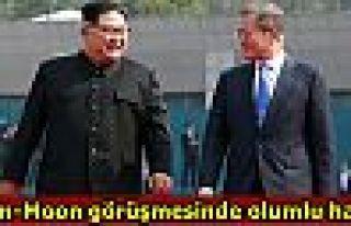 Kim-Moon görüşmesinde olumlu hava