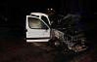 Konya'da 1 saat içinde 7 araç yandı