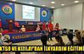 KTSO ve Kızılay'dan ilkyardım eğitimi