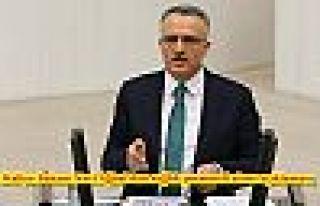 Maliye Bakanı Naci Ağbal'dan sağlık personeli...