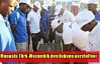 Mangala Türk-Mozambik dostluğunu perçinliyor