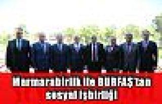 Marmarabirlik ile BURFAŞ'tan sosyal işbirliği