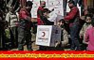 Mazlum sofraları Türkiye'nin yardım eliyle bereketlenecek