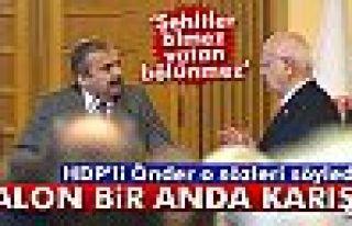 Meclis Başkanı'nın kabulünde 'Öcalan' gerginliği