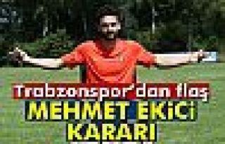Mehmet Ekici sezon sonuna kadar kadro dışı bırakıldı