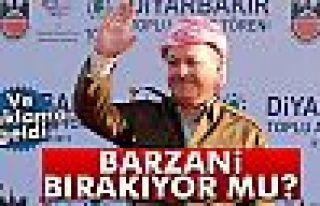Mesut Barzani'nin görevini bırakacağı haberleri...