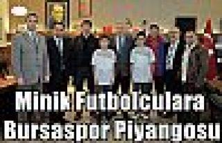 Minik Futbolculara Bursaspor Piyangosu