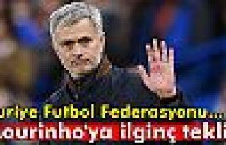 Mourinho'ya ilginç teklif