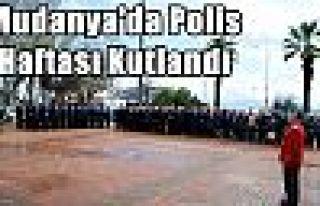 Mudanya'da Polis Haftası Kutlandı