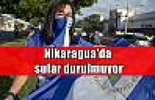Nikaragua'da sular durulmuyor