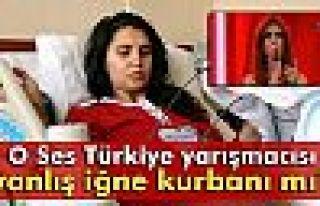 O Ses Türkiye yarışmacısı Cennet yanlış iğne...