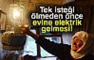 ÖLMEDEN ÖNCE TEK İSTEĞİ!
