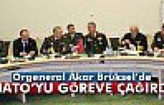 Orgeneral Akar, Brüksel'de Genelkurmay Başkanları...