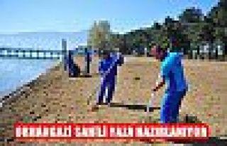 Orhangazi Sahili Yaza Hazırlanıyor