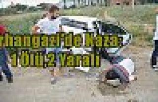 Orhangazi'de Kaza:1 Ölü,2 Yaralı