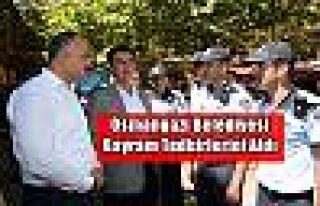 Osmangazi Belediyesi Bayram Tedbirlerini Aldı