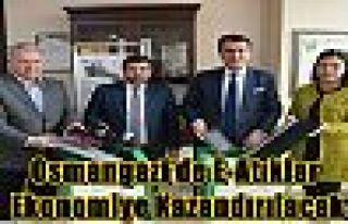 Osmangazi'de E-Atıklar Ekonomiye Kazandırılacak...