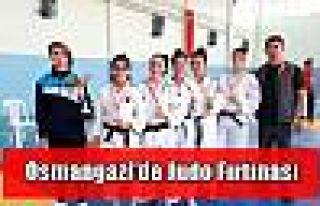 Osmangazi'de Judo Fırtınası