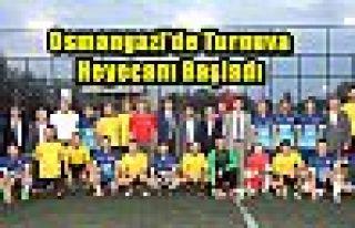 Osmangazi'de Turnuva Heyecanı Başladı