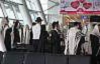 (Özel Haber) Atatürk Havalimanı'nda Yahudi Ayini