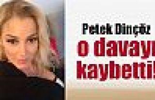 Petek Dinçöz eski eşine açtığı davayı kaybetti
