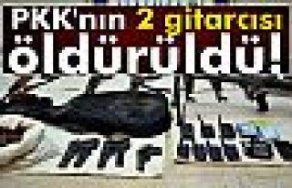PKK'nın 2 gitarcısı öldürüldü