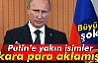 Putin'e yakın isimlerin kara para aklamış
