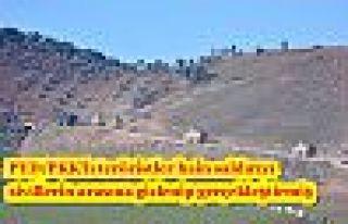PYD/PKK'lı teröristler hain saldırıyı sivillerin...