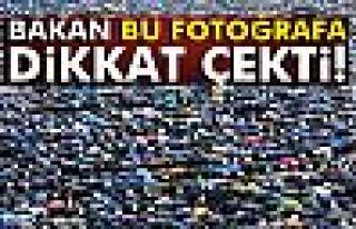 Sağlık Bakanı Akdağ, bu fotoğrafa dikkat çekti