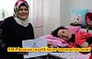 SMA hastası engelli kızın 'memuriyet azmi'