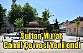 Sultan Murat Camii Çevresi Yenilendi