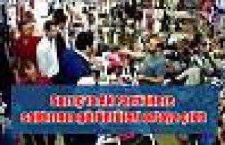 Suruç'ta AK Parti'lilere saldırının görüntüleri...
