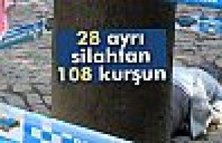 Tahir Elçi olayında 28 ayrı silahtan 108 kurşun...