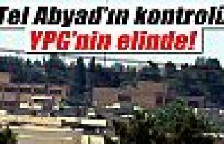 Tel Abyad'ın kontrolü tamamen YPG'lilerin elinde
