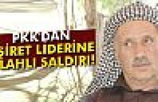 Teröristler, Jirki aşireti liderine silahlı saldırı...