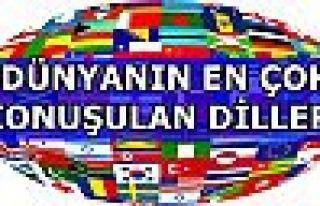Türkçe en fazla konuşulan diller arasında yer...