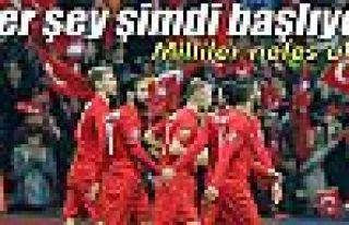 Türkiye, Kazakistan'ı tek golle devirdi