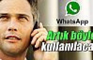 WhatsApp sesli arama özelliği artık aktif!WhatsApp...