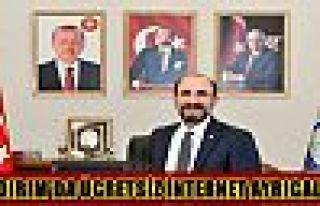 YILDIRIM'DA ÜCRETSİZ İNTERNET AYRICALIĞI