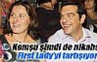 Yunanistan şimdi de nikahsız First Lady'yi tartışıyor