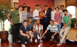 Şampiyon Engellilerden Başkan Dündar'a Ziyaret