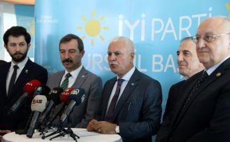 İYİ Parti Genel Başkan Yardımcısı Koray Aydın, Bursa'da gündemi değerlendirdi: