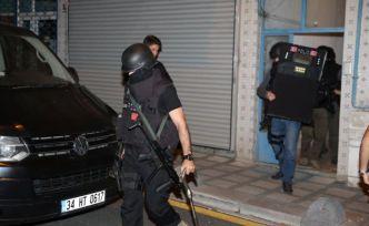 Terör örgütü DEAŞ'a yönelik eş zamanlı operasyon