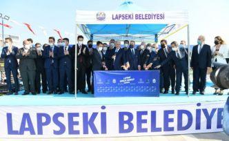 AK Parti Genel Başkanvekili Yıldırım, Lapseki Gençlik Merkezi Temel Atma Töreni'nde konuştu: