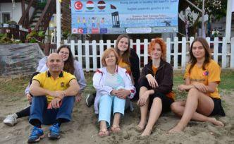 Erasmus Projesi kapsamında Sakarya'ya gelen turistler Türk kültürü ve mutfağını öğrenecek