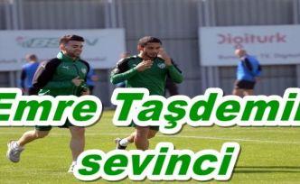 Emre Taşdemir sevinci