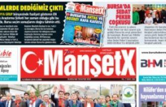 MANŞETX GAZETESİ MANŞETLERİ